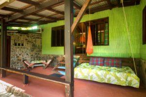 Bwa Room terrace