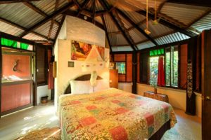 Honeymoon Suite interior with King size bed