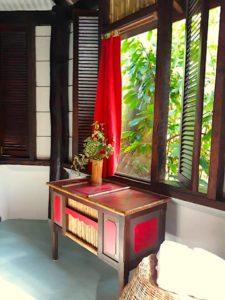 Detail of Honeymoon Suite