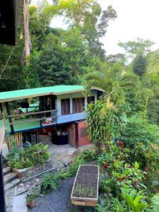 Jwa Room balcony view of garden
